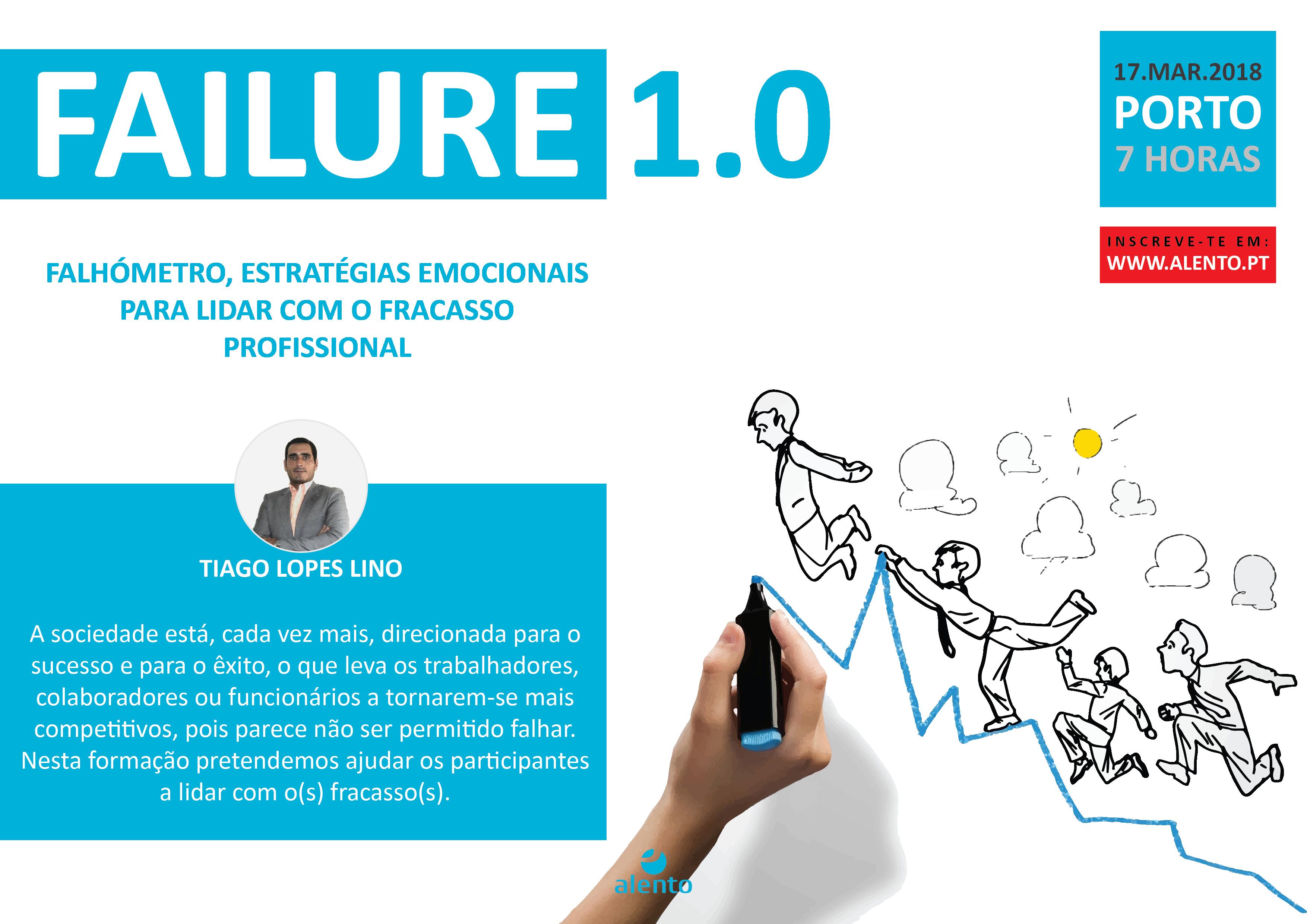 Failure 1.0 – Falhómetro, estratégias emocionais para lidar com o fracasso profissional